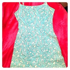 Lilly pulitzer white label dress